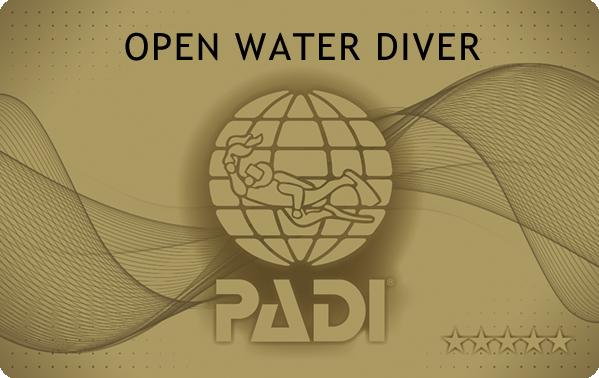 PADIオープンウォーターライセンス