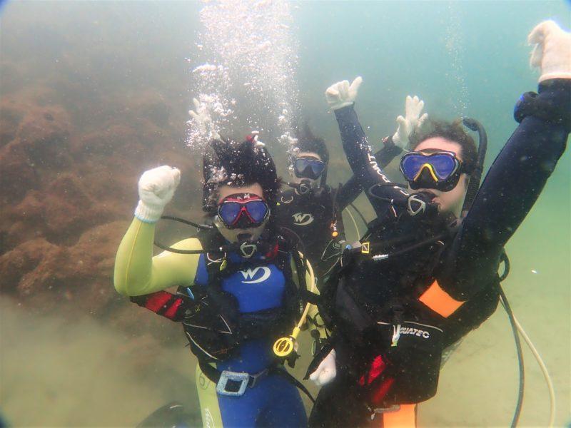 ダイビングスクール海洋実習
